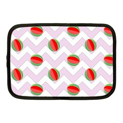 Watermelon Chevron Netbook Case (Medium)