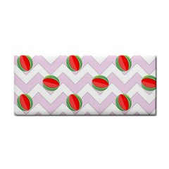 Watermelon Chevron Hand Towel