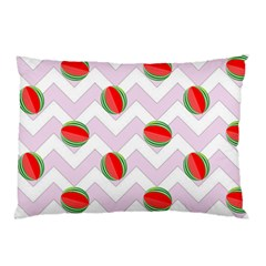 Watermelon Chevron Pillow Case