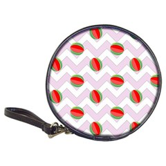 Watermelon Chevron Classic 20-CD Wallets