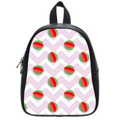 Watermelon Chevron School Bag (Small)