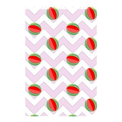 Watermelon Chevron Shower Curtain 48  x 72  (Small)