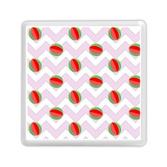 Watermelon Chevron Memory Card Reader (Square)