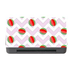 Watermelon Chevron Memory Card Reader with CF