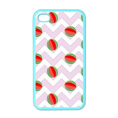 Watermelon Chevron Apple iPhone 4 Case (Color)