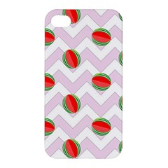 Watermelon Chevron Apple iPhone 4/4S Hardshell Case