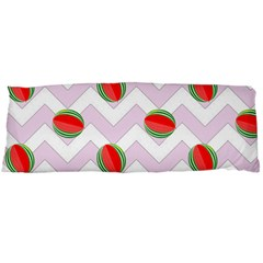 Watermelon Chevron Body Pillow Case (Dakimakura)