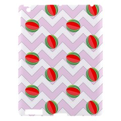 Watermelon Chevron Apple iPad 3/4 Hardshell Case