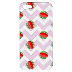 Watermelon Chevron Apple iPhone 5 Hardshell Case