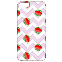 Watermelon Chevron Apple iPhone 5 Classic Hardshell Case