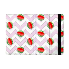 Watermelon Chevron Apple iPad Mini Flip Case