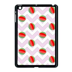 Watermelon Chevron Apple iPad Mini Case (Black)