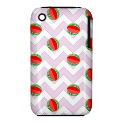 Watermelon Chevron iPhone 3S/3GS