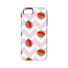 Watermelon Chevron Apple iPhone 5 Classic Hardshell Case (PC+Silicone)