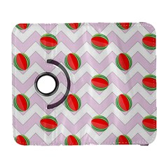 Watermelon Chevron Samsung Galaxy S  III Flip 360 Case