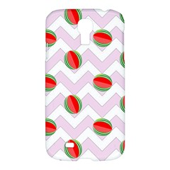 Watermelon Chevron Samsung Galaxy S4 I9500/I9505 Hardshell Case
