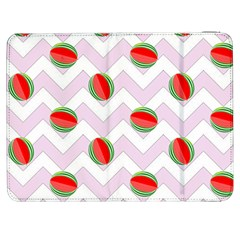 Watermelon Chevron Samsung Galaxy Tab 7  P1000 Flip Case