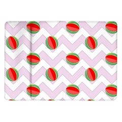 Watermelon Chevron Samsung Galaxy Tab 10.1  P7500 Flip Case