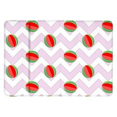 Watermelon Chevron Samsung Galaxy Tab 8.9  P7300 Flip Case