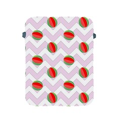 Watermelon Chevron Apple iPad 2/3/4 Protective Soft Cases