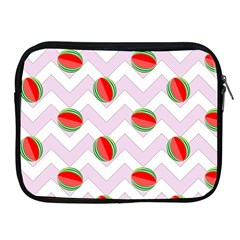 Watermelon Chevron Apple iPad 2/3/4 Zipper Cases
