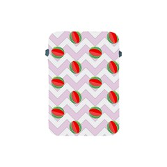 Watermelon Chevron Apple iPad Mini Protective Soft Cases