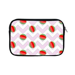 Watermelon Chevron Apple iPad Mini Zipper Cases
