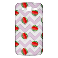 Watermelon Chevron Samsung Galaxy Mega 5.8 I9152 Hardshell Case