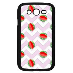 Watermelon Chevron Samsung Galaxy Grand DUOS I9082 Case (Black)