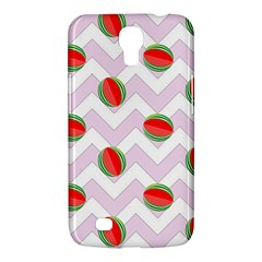 Watermelon Chevron Samsung Galaxy Mega 6 3  I9200 Hardshell Case by snowwhitegirl
