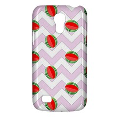 Watermelon Chevron Samsung Galaxy S4 Mini (GT-I9190) Hardshell Case