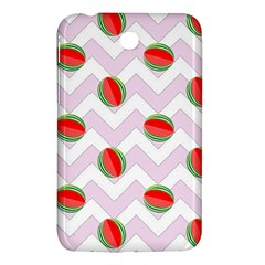 Watermelon Chevron Samsung Galaxy Tab 3 (7 ) P3200 Hardshell Case