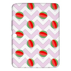 Watermelon Chevron Samsung Galaxy Tab 3 (10.1 ) P5200 Hardshell Case
