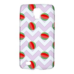 Watermelon Chevron Samsung Galaxy S4 Active (I9295) Hardshell Case