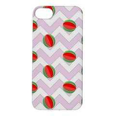 Watermelon Chevron Apple iPhone 5S/ SE Hardshell Case
