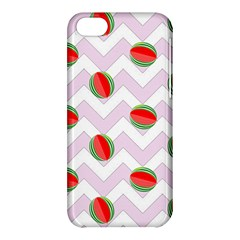 Watermelon Chevron Apple iPhone 5C Hardshell Case