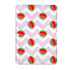 Watermelon Chevron Samsung Galaxy Tab 2 (10.1 ) P5100 Hardshell Case