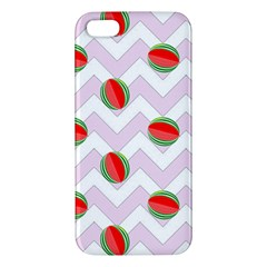 Watermelon Chevron iPhone 5S/ SE Premium Hardshell Case
