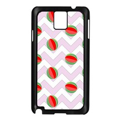 Watermelon Chevron Samsung Galaxy Note 3 N9005 Case (Black)
