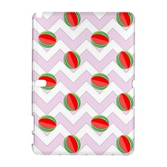 Watermelon Chevron Samsung Galaxy Note 10.1 (P600) Hardshell Case