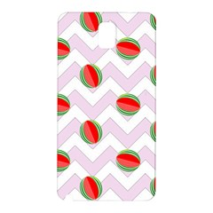 Watermelon Chevron Samsung Galaxy Note 3 N9005 Hardshell Back Case