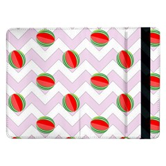 Watermelon Chevron Samsung Galaxy Tab Pro 12.2  Flip Case