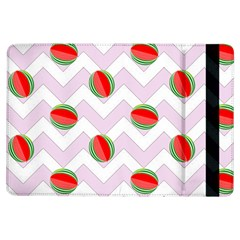 Watermelon Chevron iPad Air Flip
