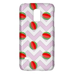 Watermelon Chevron Samsung Galaxy S5 Mini Hardshell Case