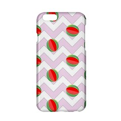 Watermelon Chevron Apple iPhone 6/6S Hardshell Case