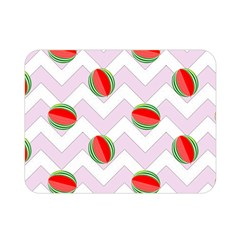 Watermelon Chevron Double Sided Flano Blanket (Mini)