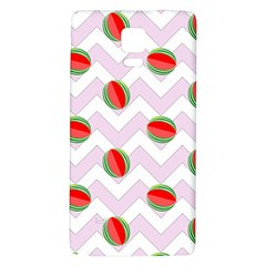 Watermelon Chevron Samsung Note 4 Hardshell Back Case
