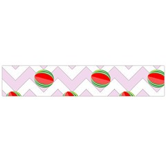 Watermelon Chevron Large Flano Scarf