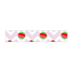 Watermelon Chevron Flano Scarf (Mini)