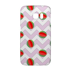 Watermelon Chevron Samsung Galaxy S6 Edge Hardshell Case
